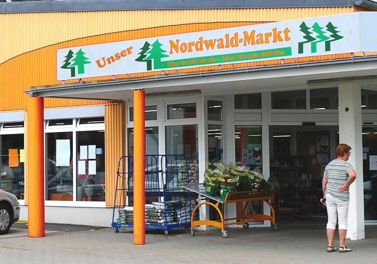 Nordwaldmarkt Außenfassade